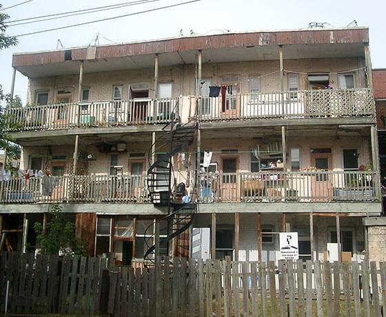 Rénovation - Immeuble 6 logements - AVANT